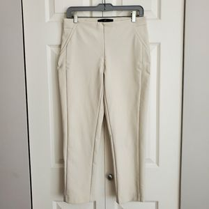 Cropped business casual skinny trousers/leggings